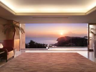 PROSPERDESIGN ARCHITECT OFFICE/プロスパーデザイン 隨意取材風玄關、階梯與走廊