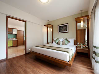 Grand Residency-Service Apartments, Mumbai. Eclectic style hotels by SDA designs Eclectic