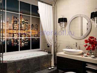 homify Classic style bathrooms Tiles Beige
