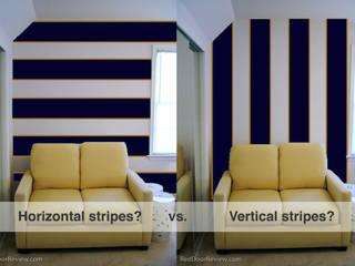 How to make a room look bigger Paredes y pisos de estilo minimalista de Madame Ant Minimalista