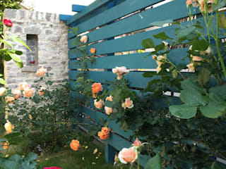 Eclectic style garden by eni Eclectic