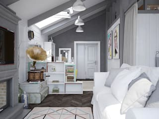 Scandinavian style bedroom by Pavel Alekseev Scandinavian