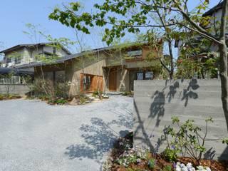 造園 モダンな 家 の バウムスタイルアーキテクト一級建築士事務所 モダン
