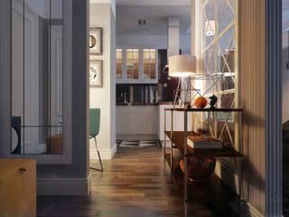 5-th Ave. NEW YORK: eclectic Kitchen by KAPRAN DESIGN  (interior workshop)