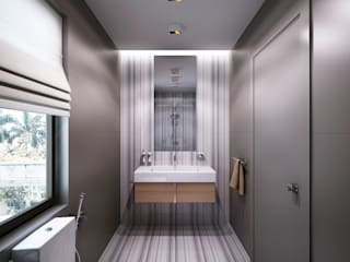 BATHROOMS:  Bathroom by KAPRAN DESIGN  (interior workshop)