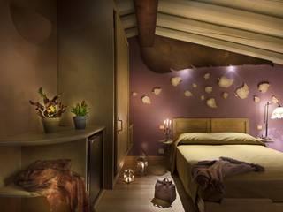 Lavori Modern Bedroom by Falegnameria Samuelli Modern