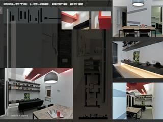 T Home Case in stile minimalista di Stefano Panero Oddi Nyeusi Design Minimalista