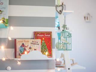 """Dekoracje do pokoju dziecięcego - półka """"chmurka"""" od MyWoodVillage Skandynawski"""