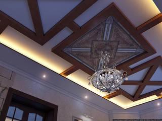 Кусочек Италии в доме Гостиная в средиземноморском стиле от Architoria 3D Средиземноморский