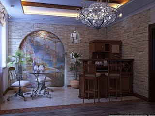 Кусочек Италии в доме Медиа комната в средиземноморском стиле от Architoria 3D Средиземноморский
