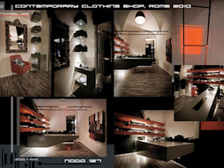 Nodo 127: Negozi & Locali commerciali in stile  di Stefano Panero Oddi Nyeusi Design