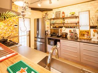 株式会社コリーナ Eclectic style kitchen