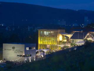 Weingut Am Stein Moderne Geschäftsräume & Stores von Hofmann Keicher Ring Architekten Modern