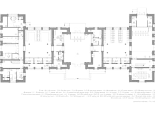 ground floor planning por VALENTIROV&PARTNERS Clássico