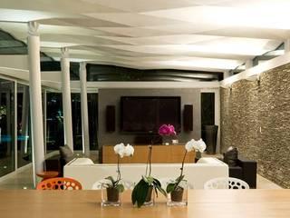 oda - oficina de arquitectura Ruang Makan Modern
