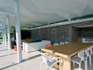 Comedores de estilo moderno de oda - oficina de arquitectura Moderno