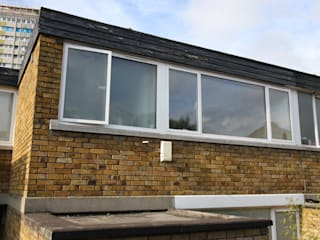 Ebbisham Drive Modern windows & doors by IQ Glass UK Modern