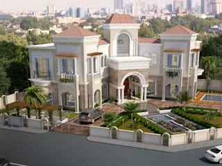 Villa At Dubai Classic style houses by SDA designs Classic