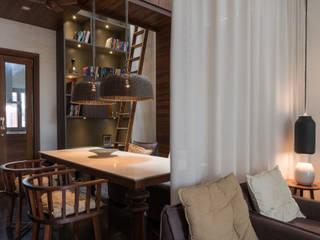 Tathastu_Residence Modern dining room by Design Plus Modern