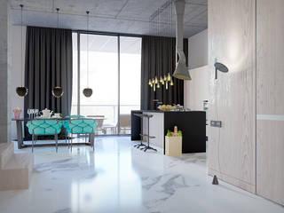 Pechersk apartment: Кухни в . Автор – ONEDESIGN