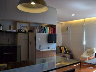 UNIO Arquitetura Ruang Keluarga Modern
