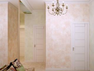Corredores, halls e escadas ecléticos por Студия интерьерного дизайна happy.design Eclético