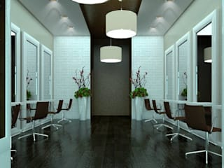 AG Interior Design Offices & stores Brown