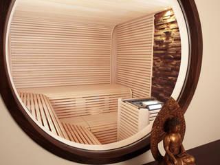 Erdmann Exklusive Saunen Spa in stile asiatico