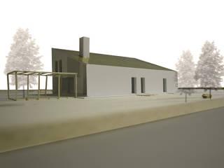 Nuovo edificio unifamiliare: Case in stile  di Interno 4