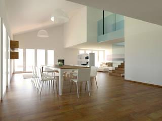 Nuovo edificio unifamiliare: Soggiorno in stile  di Interno 4