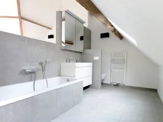 rénovation maison OC Salle de bain minimaliste par planomatic Minimaliste