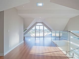 Balcones y terrazas de estilo moderno de Patrícia Azoni Arquitetura + Arte & Design Moderno