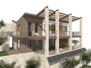 Ristrutturazione casa Limonaia: Case in stile in stile Mediterraneo di Studio Cobelli