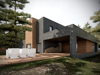 Modern houses by PL+sp. z o.o. Modern