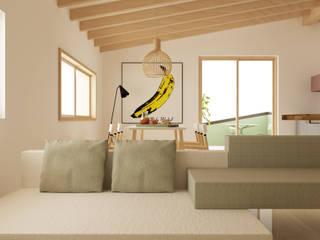 Progetto interno appartamento:  in stile  di Studio Cobelli