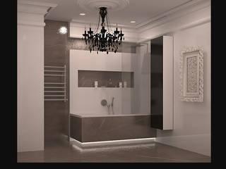 Ванная современное и классическое вместе Ванная в классическом стиле от freeDOM Классический