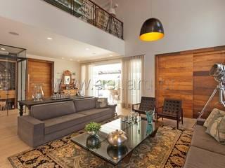 Sala de Estar: Salas de estar  por aei arquitetura e interiores