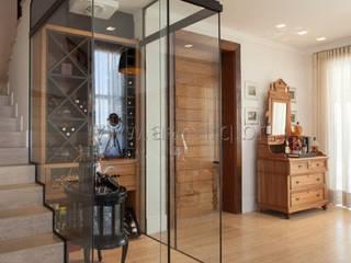 aei arquitetura e interiores Modern wine cellar