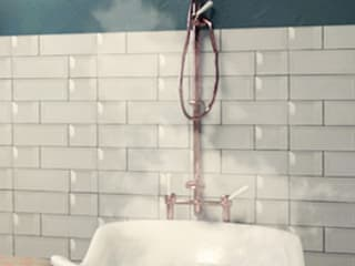 Relajación de un baño Baños eclécticos de SIMPLE actitud Ecléctico