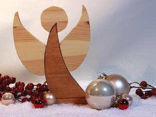 Schlichte Holzdekoration für den Winter :   von jemele,Skandinavisch