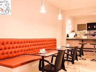 Restaurantes de estilo  por Daniely Victor - Designer de Interiores, Minimalista