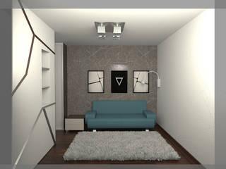 комната парня 17 лет Спальня в стиле минимализм от freeDOM Минимализм