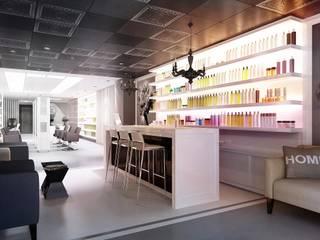 Espacios comerciales de estilo  de KAPRANDESIGN