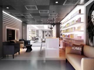 Centros comerciales de estilo  de KAPRANDESIGN