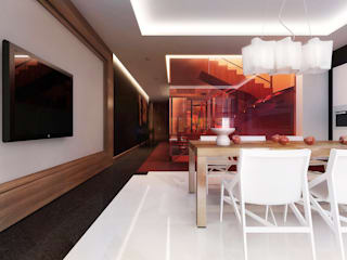 Dining room by KAPRANDESIGN