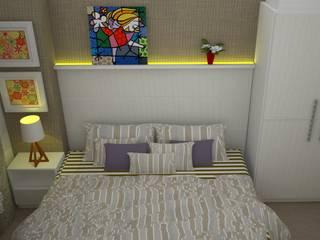 Cuartos de estilo clásico de Duecad - Arquitetura e Interiores Clásico