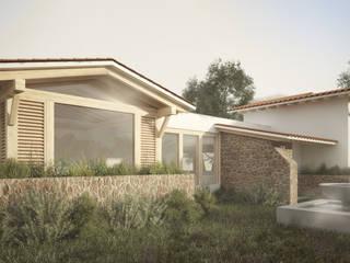Casas de estilo  de JR Arquitectos