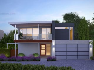 Architectural 3D Visualizations by Pred Solutions Modern