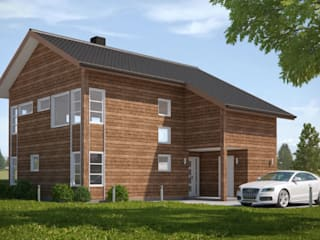 3D Exterior Architectural Rendering from Pred Solutions:  Houses by Pred Solutions