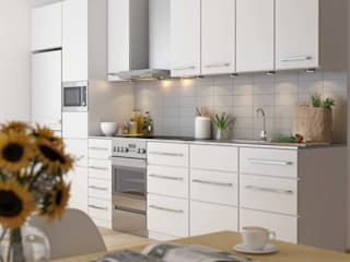 Architectural 3D Renderings from Pred Solutions Modern kitchen by Pred Solutions Modern